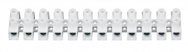 C1050400PPNH 10 X ViD Euroklemmleiste Klemmleiste 4,0 - 6,0 mm² 12-polig weiss Lüsterklemme