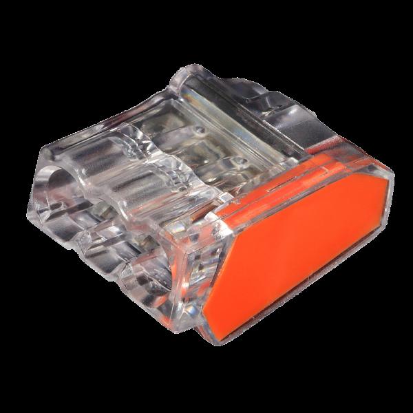 C2473-203N ViD 2473-203 Verbindungsklemmen/Steckklemmen orange 1,0 - 2,5 mm² 100 Stück