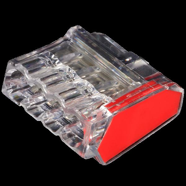 C2473-204N ViD 2473-204  Verbindungsklemmen/Steckklemmen rot 1,0 - 2,5 mm² 100 Stück