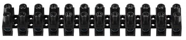 C1050401PPNH 10 X ViD Euroklemmleiste Klemmleiste 4,0 - 6,0 mm² 12-polig schwarz Lüsterklemme